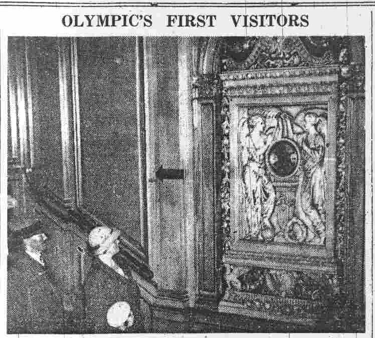 La destruction du RMS Olympic