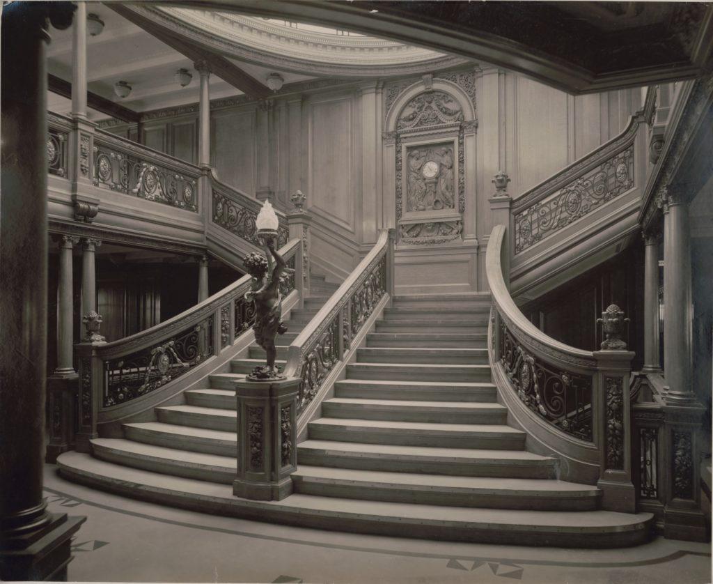 grand escalier de première classe