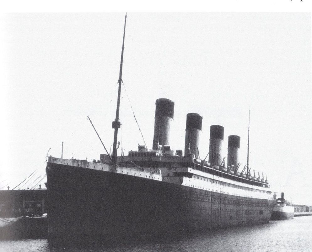 destruction du RMS Olympic