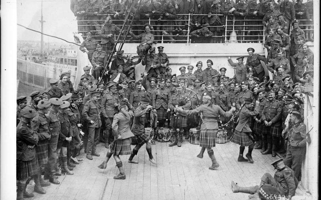 Première Guerre mondiale : HMT Olympic, Mission Transatlantique