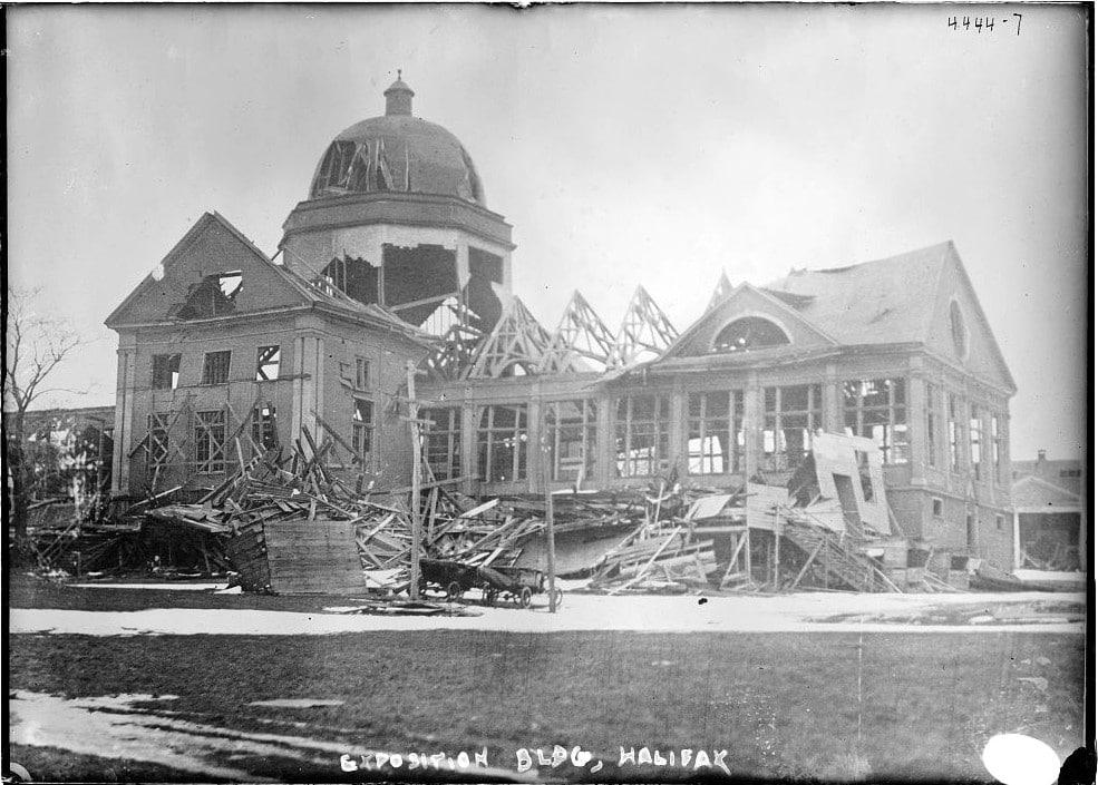 l'explosion du port de Halifax