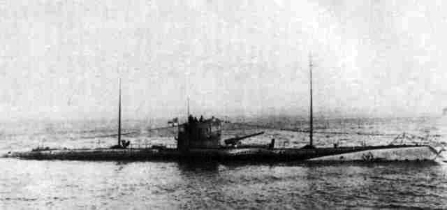 Le HMT Olympic coule le U-103 !