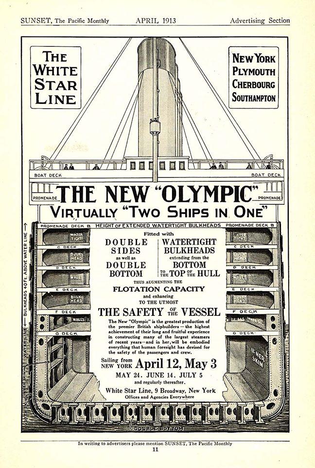 refonte de l'olympic de 1913