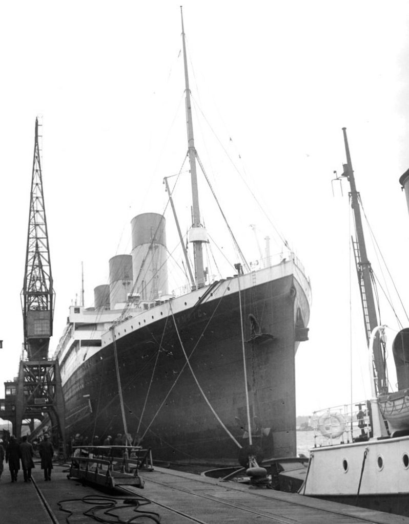 RMS Olympic 1929