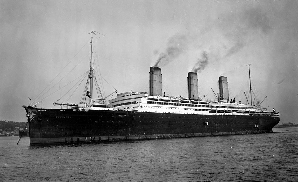 rms olympic concurrent SS imperator