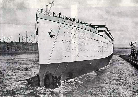 RMS Olympic FAQ