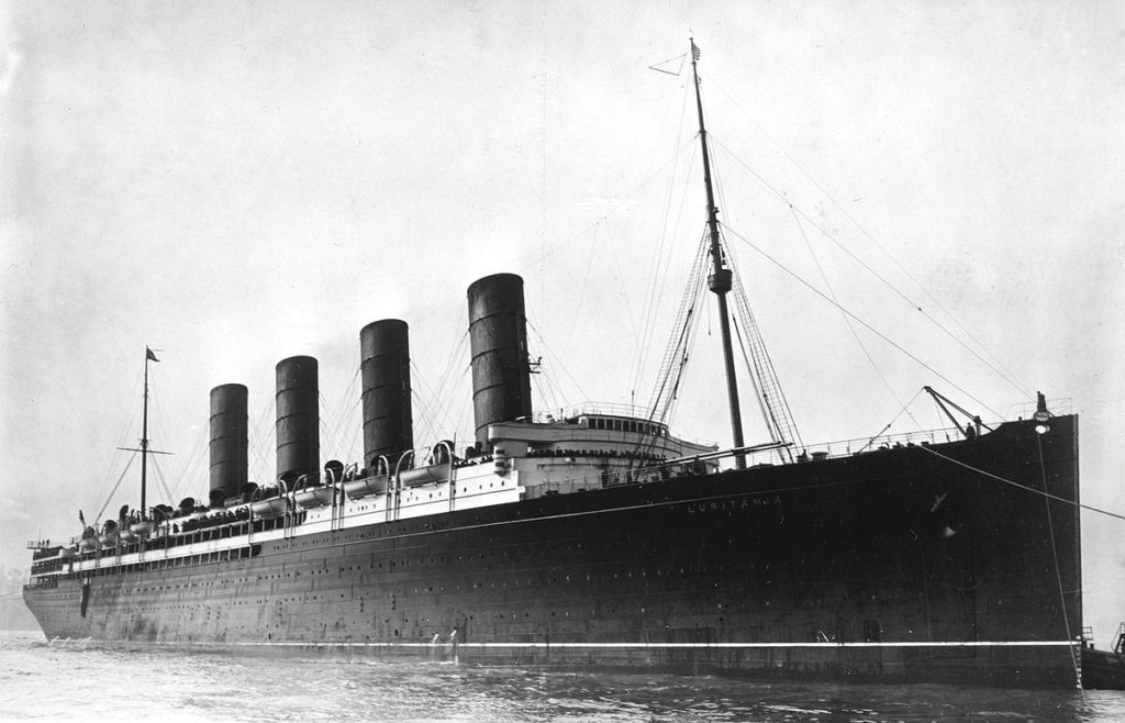 rms olympic concurrents rms lusitania