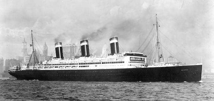SS leviathan Vaterland