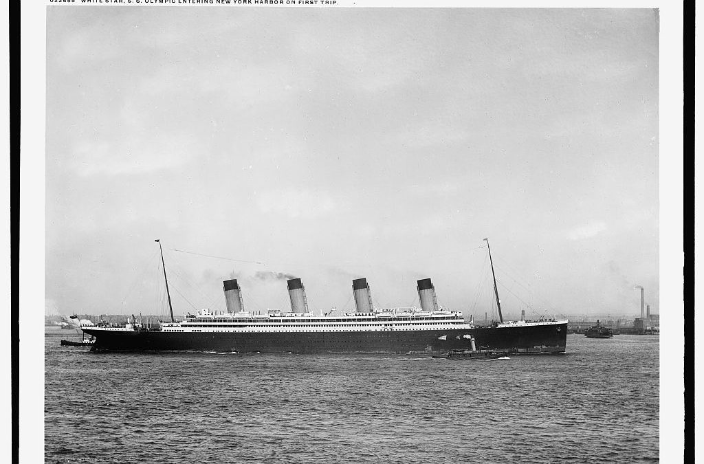 Le voyage inaugural du RMS Olympic