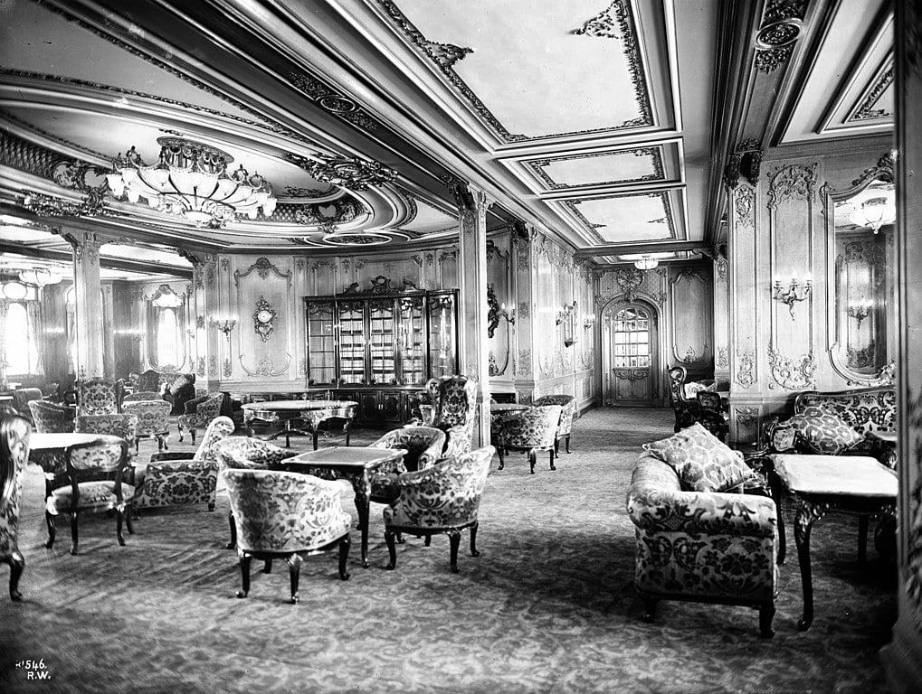 RMS Olympic Salon de première classe