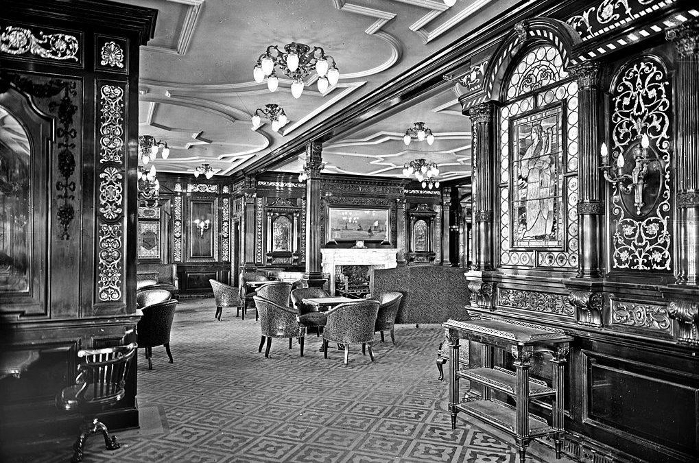 Visitez l'intérieur du RMS Olympic !