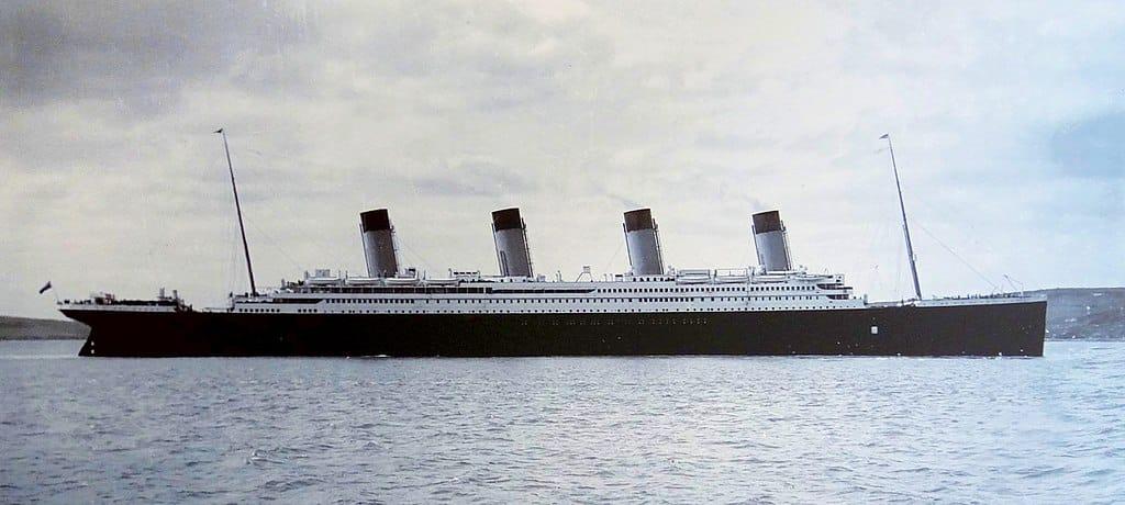 Le Titanic à Queenstown