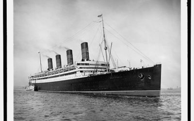 Olympic VS Aquitania : Le Duel