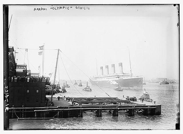 Les infrastructures de New York pour le RMS Olympic