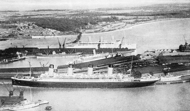 Les infrastructures du RMS Olympic