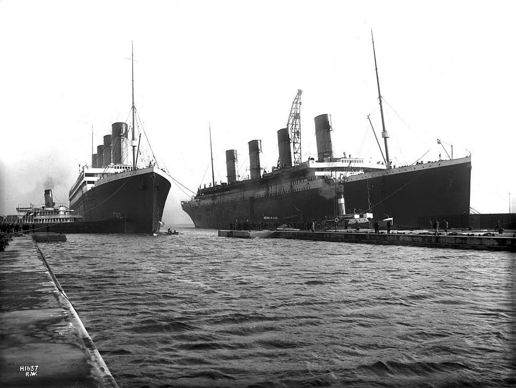 Titanic et Olympic
