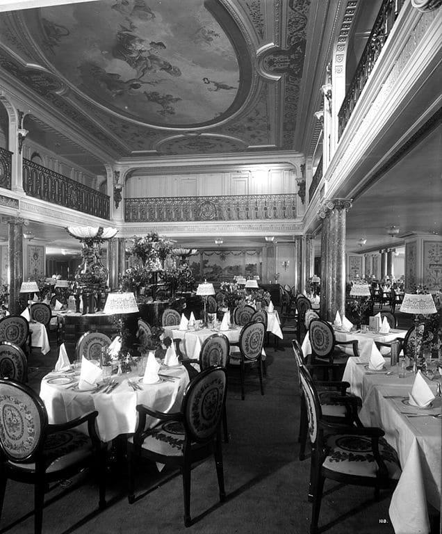 Restaurant Olymoic VS Aquitania