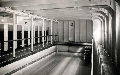 La piscine du RMS Olympic