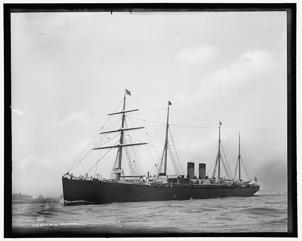 le RMS Germanic