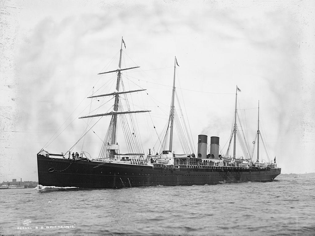 SS Britannic 1874