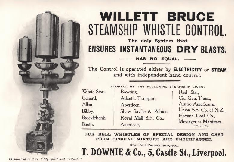 titanic whistle