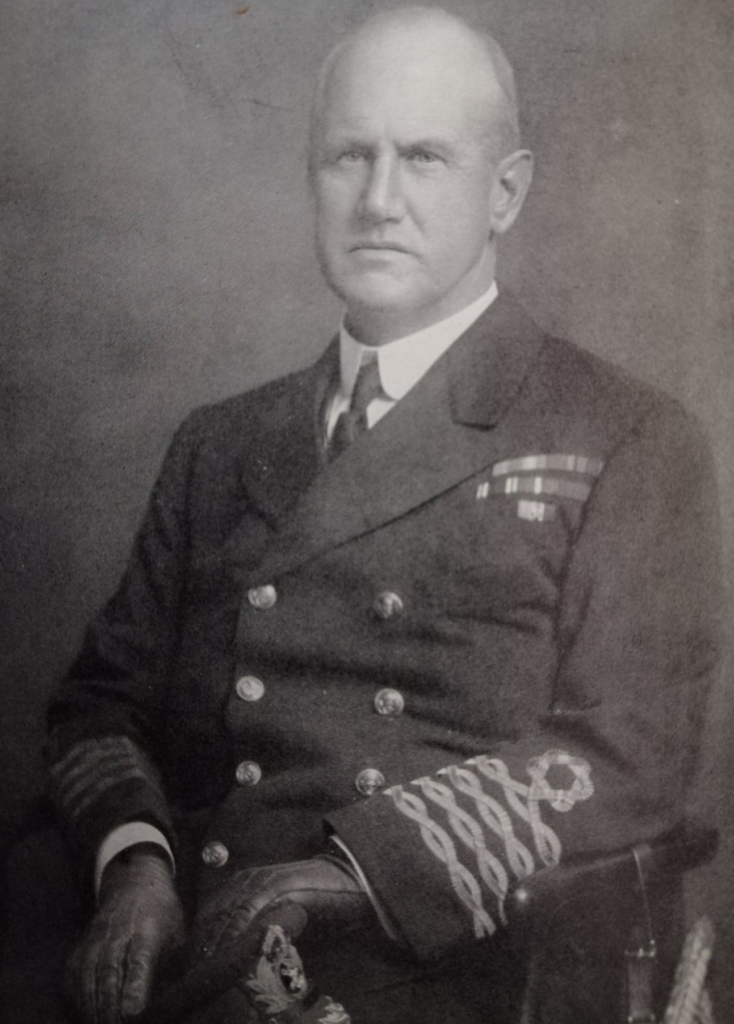 Commodore Bertram Hayes