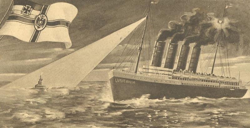 Le capitaine de Olympic ne veut pas répéter le fiasco du Lusitania