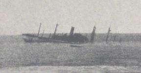le cargo Brecknockshire construit par Harland & Wolff