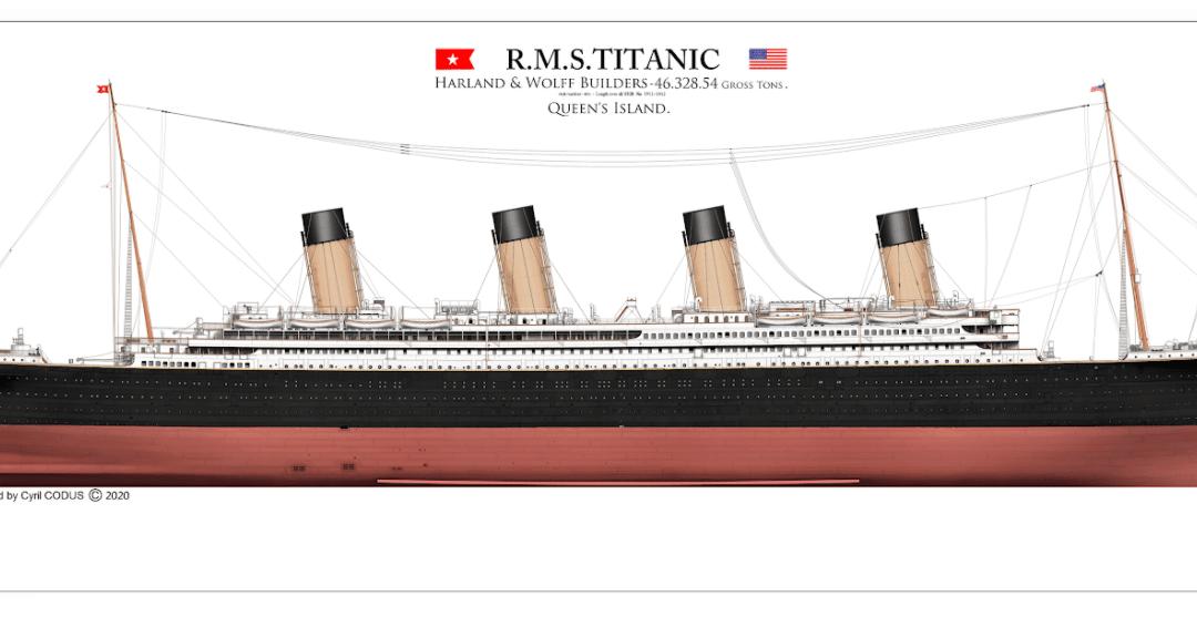Posséder un plan détaillé du Titanic ? Interview de Cyril Codus