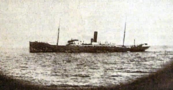 Le Möewe en action en 1916